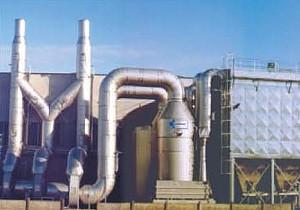 Průmyslové vzduchové filtry a pračky vzduchu