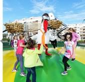Stork Bruno - exterior attractions